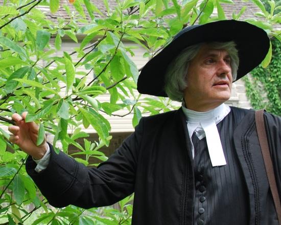 John Bartram in Bartram's Garden.