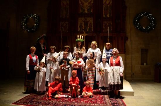 Muhlenberg College Santa Lucia Festival