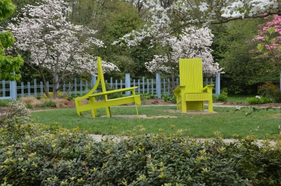 Rutgers Gardens, The Chair Garden, Kirk R. Brown, John Bartram