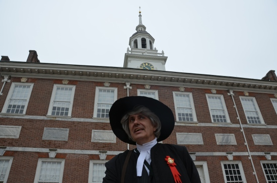 Kirk R. Brown, Independence Hall, John Bartram, Founding Fathers