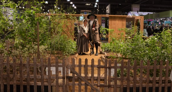 John Bartram, Kirk R. Brown, Sara Brown, Ann Mendenhall Bartram, PHS, Philadelphia Flower Show