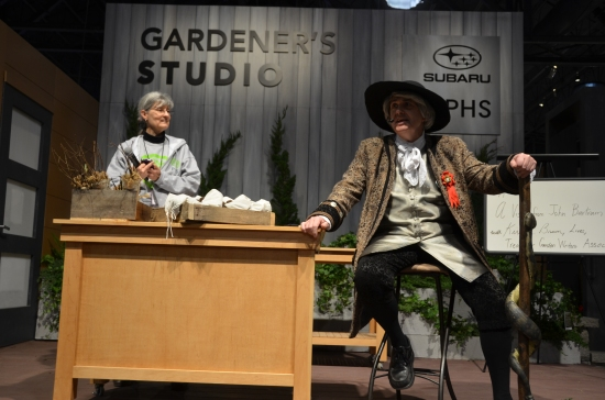 Gardeners Studio, Philadelphia Flower Show, John Bartram, Kirk R. Brown